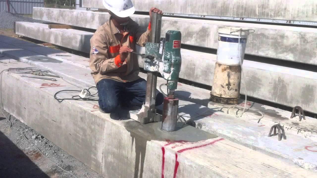 Khoan rút lõi bê tông huyện Củ Chi là gì