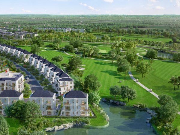 West Lakes Golf & Villas: Khu biệt thự nghỉ dưỡng cao cấp tại Long An