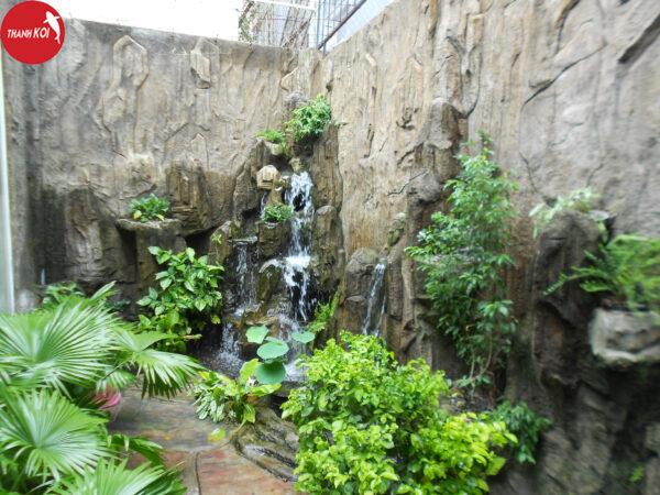 Thi công thiết kế tường thác nước đẹp với giá rẻ